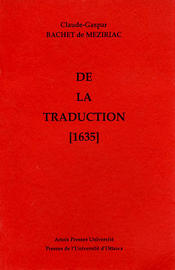 De la Traduction (1635)
